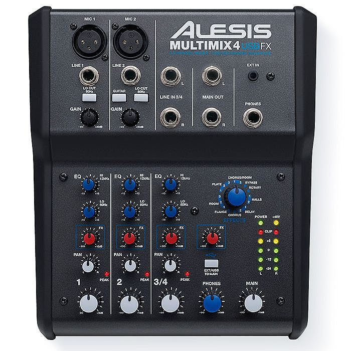 alesis multimix 6 usb fx