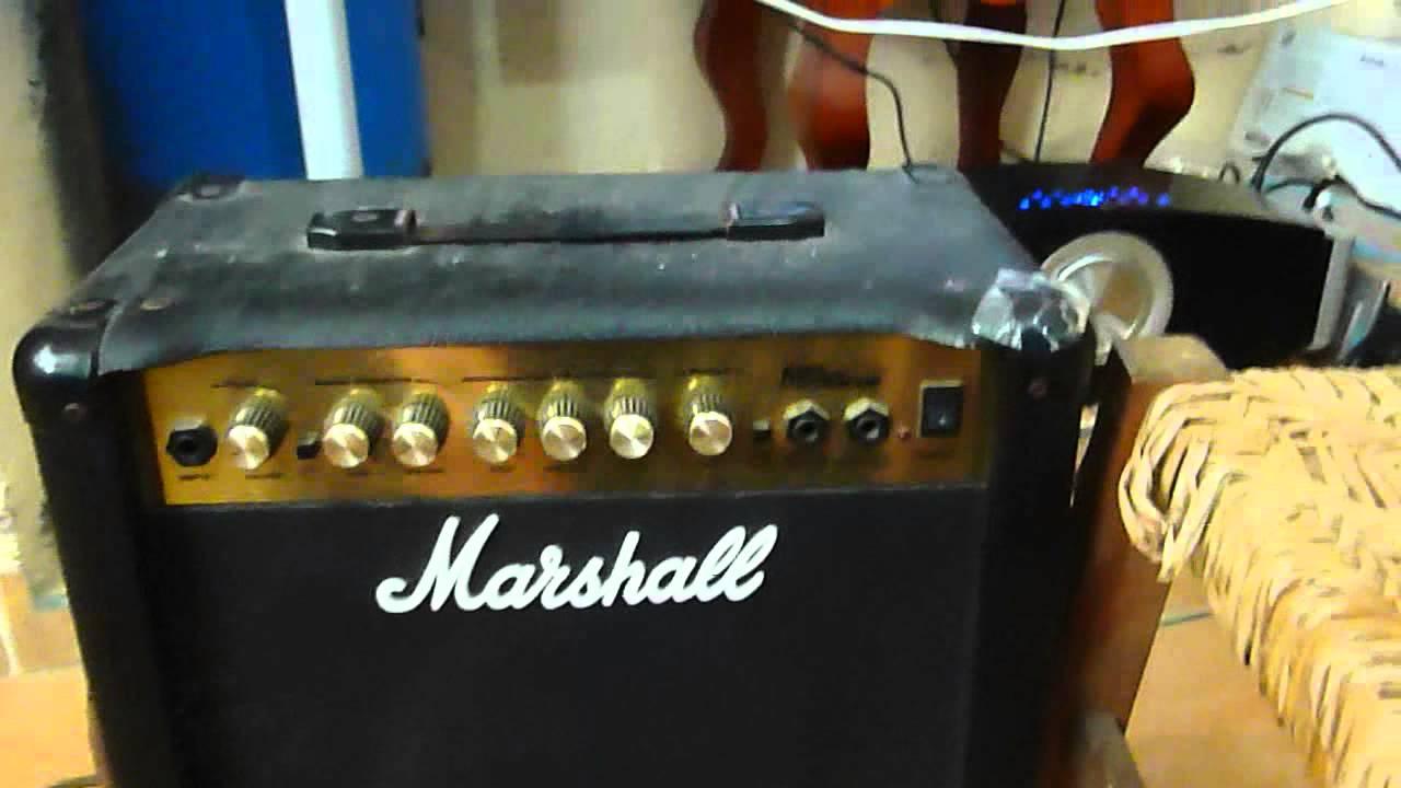 ampli marshall mg15cdr