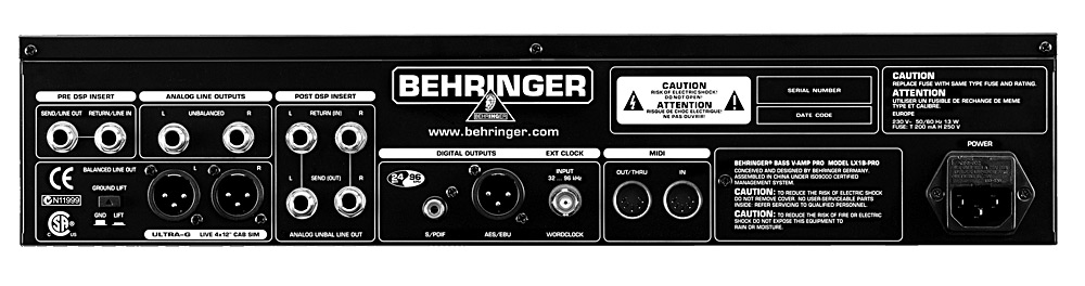 bass v amp pro