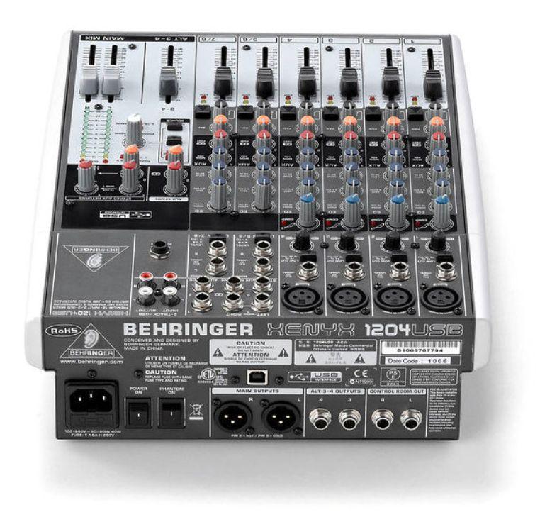 behringer xenyx 1204
