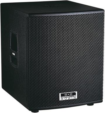 caisson de basse amplifier