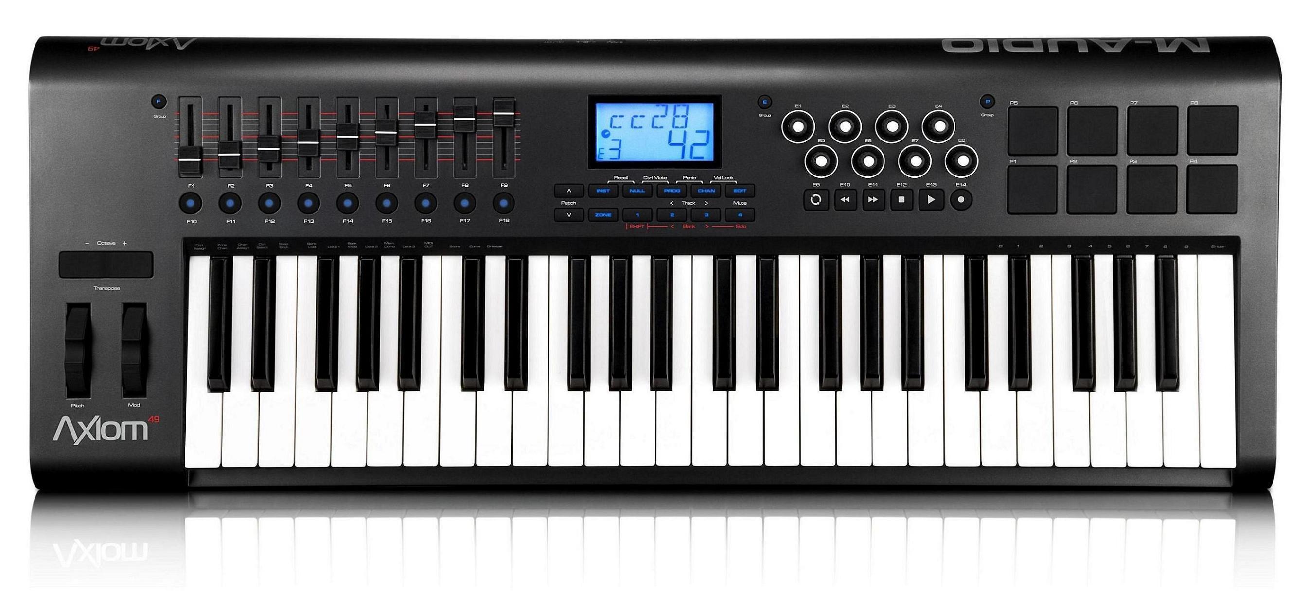 clavier maitre m audio